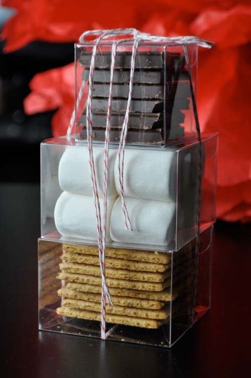 DIY Smores Kits. Credit Twig and Thistle