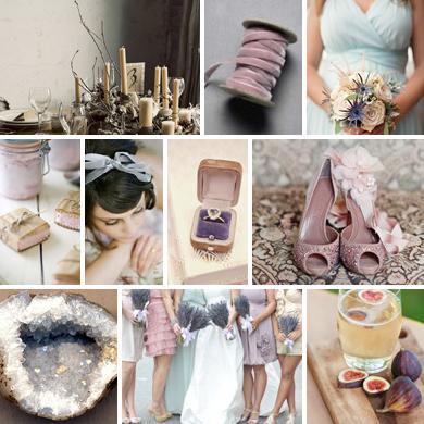 Lavender-gray-light-blue-wedding-inspiration-board